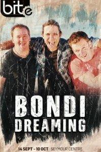 Flyer for Bondi Dreaming 2009