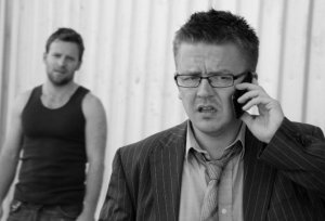 Nick Bolton in 'Shots' as part of 'Crime Scenes'