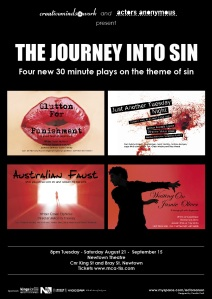 The Journey Into Sin Poster