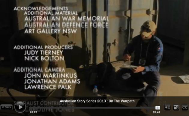 Australian story credits