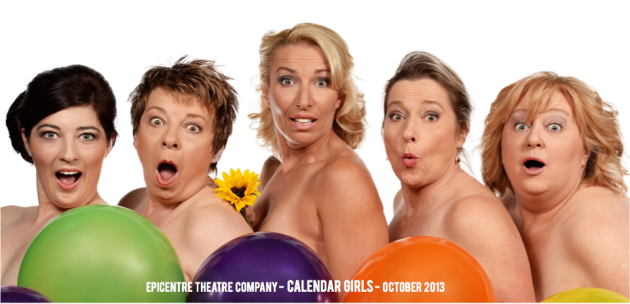 Calendar Girls Front Cover Screen Grab